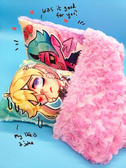 Boys Outta Luck! Handmade Plush Stuffed Pillow Priest, Cellist, Incubus