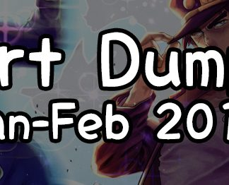 SHIROASA's Art Dump Files January - February 2019
