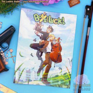 Boys Outta Luck! Printed Comic Book, webcomic original print run