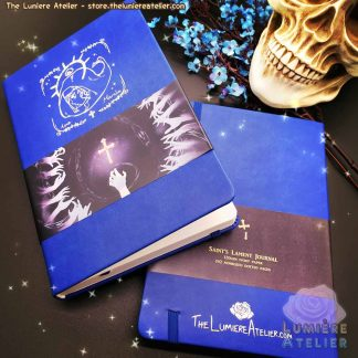 Gothic Hardcover Notebook for School, Bullet Journals, Travel Notebook