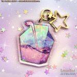Moon Juice - Yumekawaii / Dreamcore Keychain or charm accessory